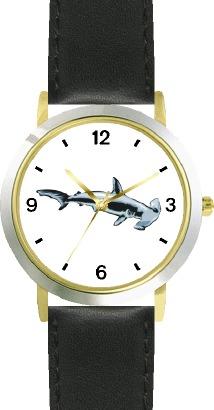 WatchBuddy Hammerhead Shark Animal - WATCHBUDDY DLX 2-TONE THEME WATCH - Black Strap-Kid's Size at Sears.com